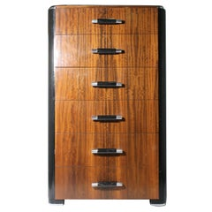 Period Donald Deskey Deco Chest of Drawers