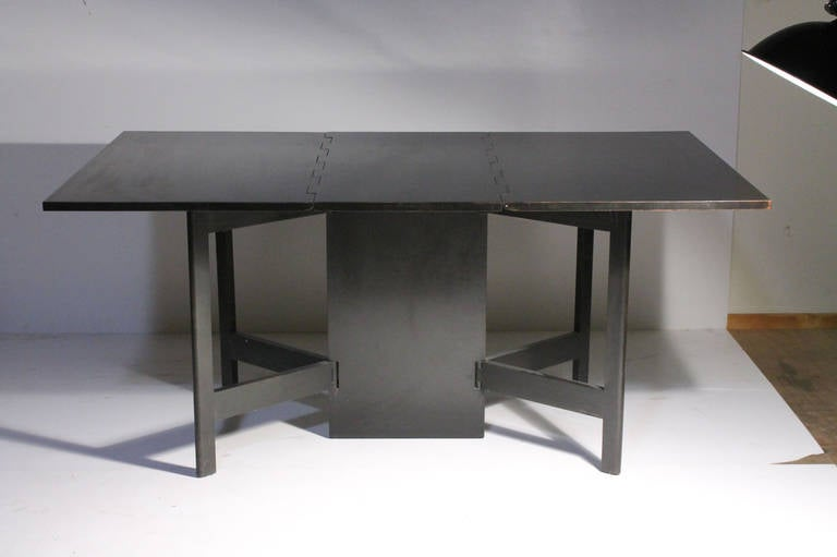 American George Nelson Herman Miller Drop Leaf Gate Leg Dining Table or Desk For Sale