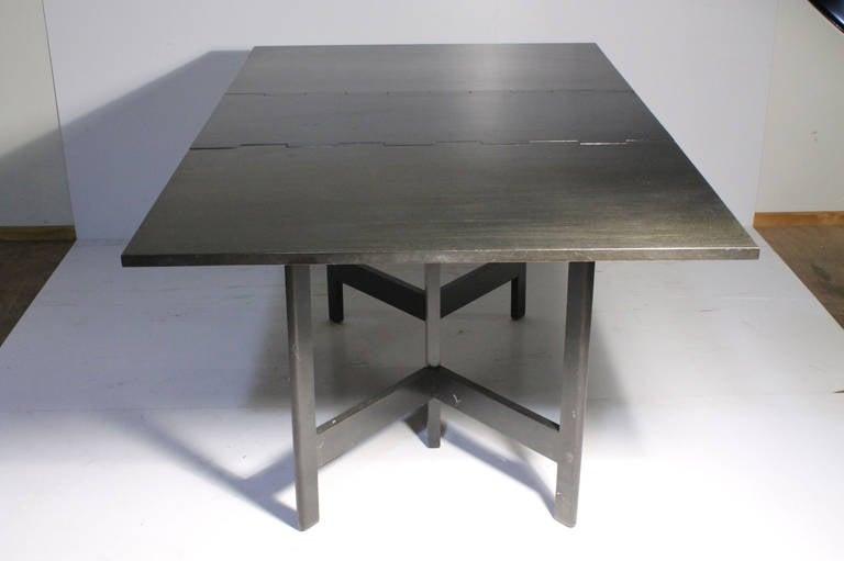 Mid-Century Modern George Nelson Herman Miller Drop Leaf Gate Leg Dining Table or Desk For Sale