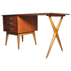 Fine Renzo Rutili Partners Desk for Johnson