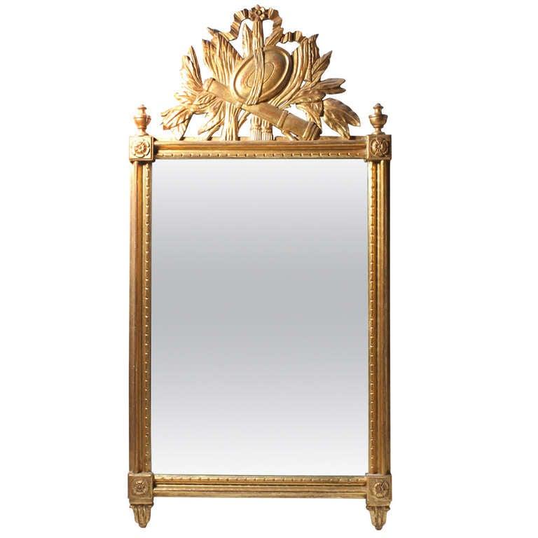 Vintage Italian Gilt Wall Mirror