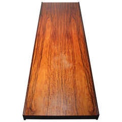 Danish modern Bruksbo Short Rosewood Bench Coffee Table