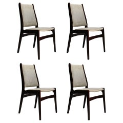 VINTAGE Johannes Andersen Danish Modern Dining Chairs