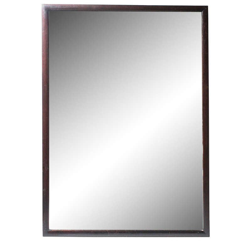 Fine edward wormley mirror for dunbar for sale at 1stdibs for Thin wall mirror