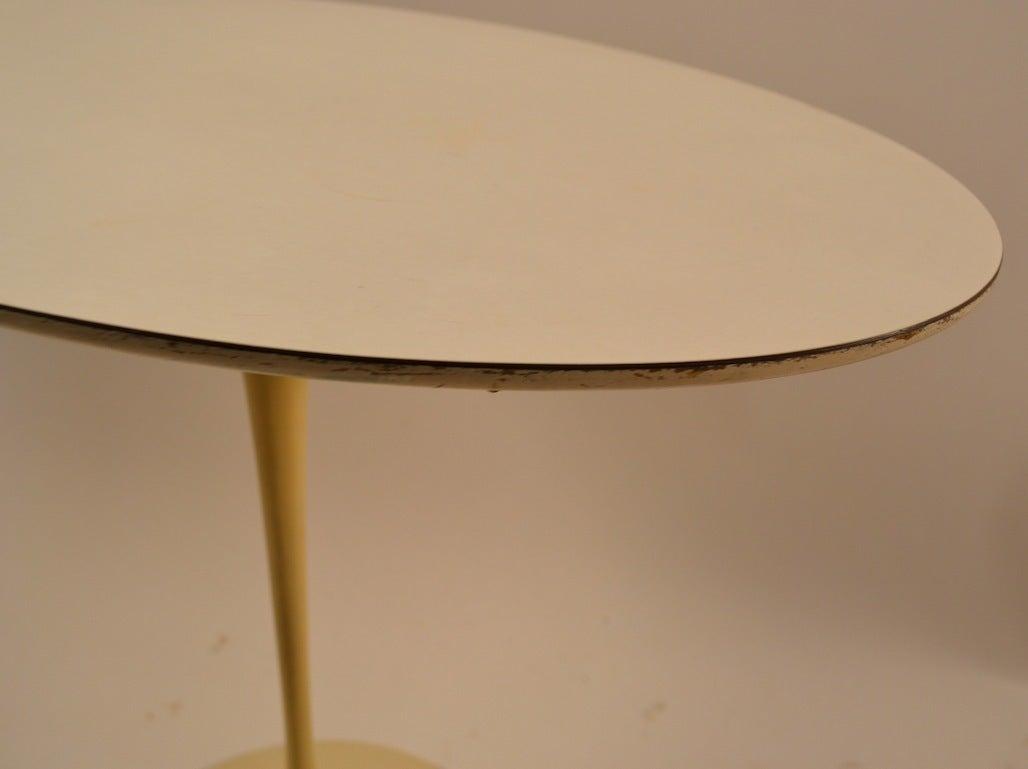 Cast Saarinen for Knoll Tulip Table For Sale