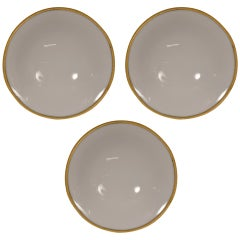 Set of Three Wall Mount Disk Fixtures