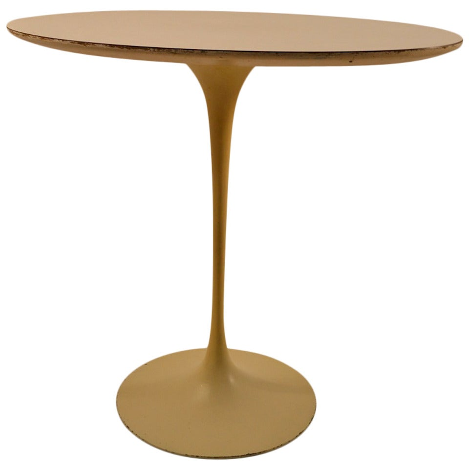 Saarinen For Knoll Tulip Table For Sale At 1stdibs