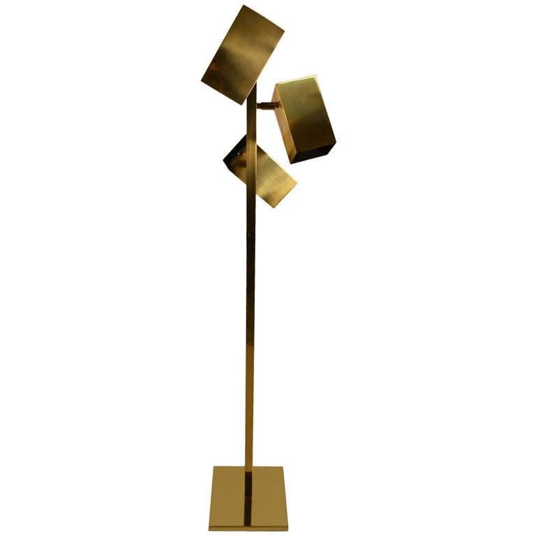 this three light floor lamp by koch and lowy is no longer available. Black Bedroom Furniture Sets. Home Design Ideas