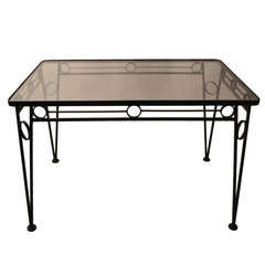 Salterini Glass Top Table
