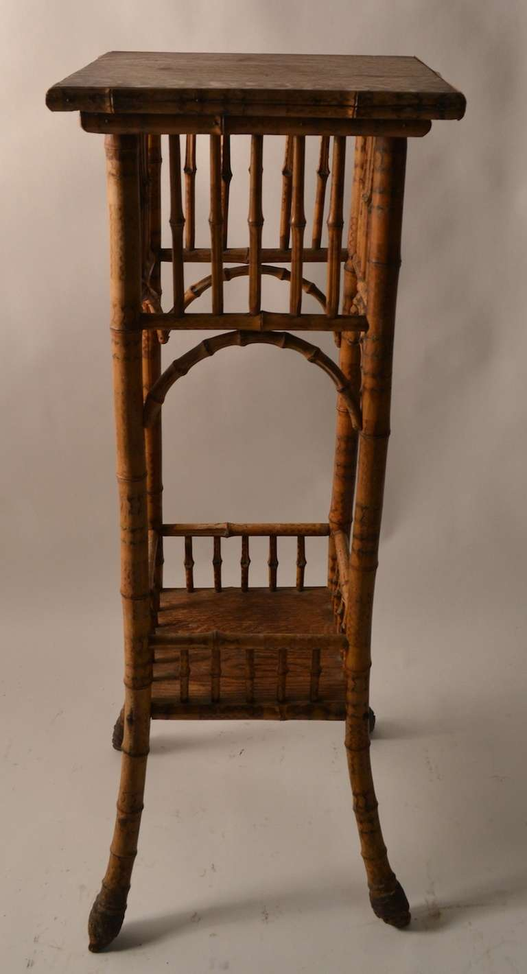 Victorian Bamboo Plant Stand At 1stdibs