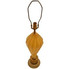 Tall Murano Lamp