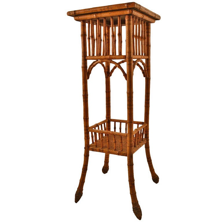 Bamboo Plant On Table: Victorian Bamboo Plant Stand At 1stdibs