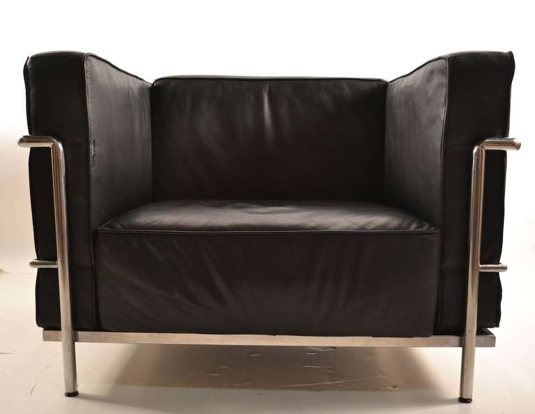 Pr gran confort corbusier chairs at 1stdibs for Sofas gran confort