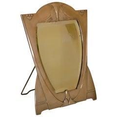 WMF Art Nouveau M Easel Mirror