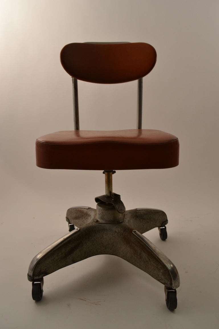 Industrial Swivel Desk Chair at 1stdibs