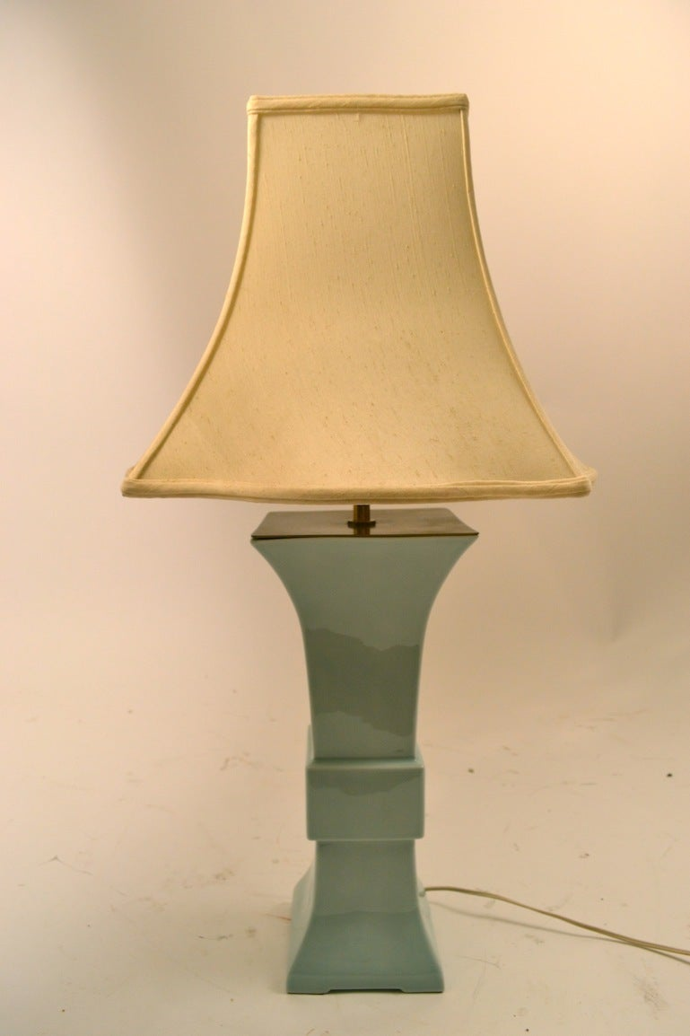 Blanc de chine chinese style lamp for sale at 1stdibs for Table de chine