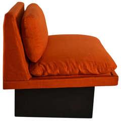 Armless Lounge Seat