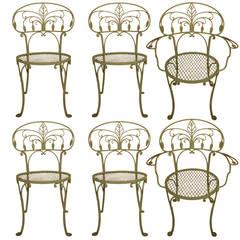 Set of Six Salterini Dining Chairs