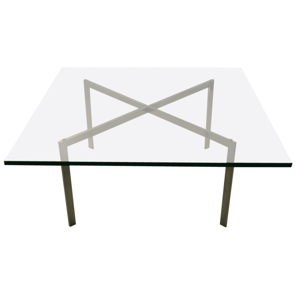 Classic knoll barcelona table at 1stdibs - Barcelona table knoll ...