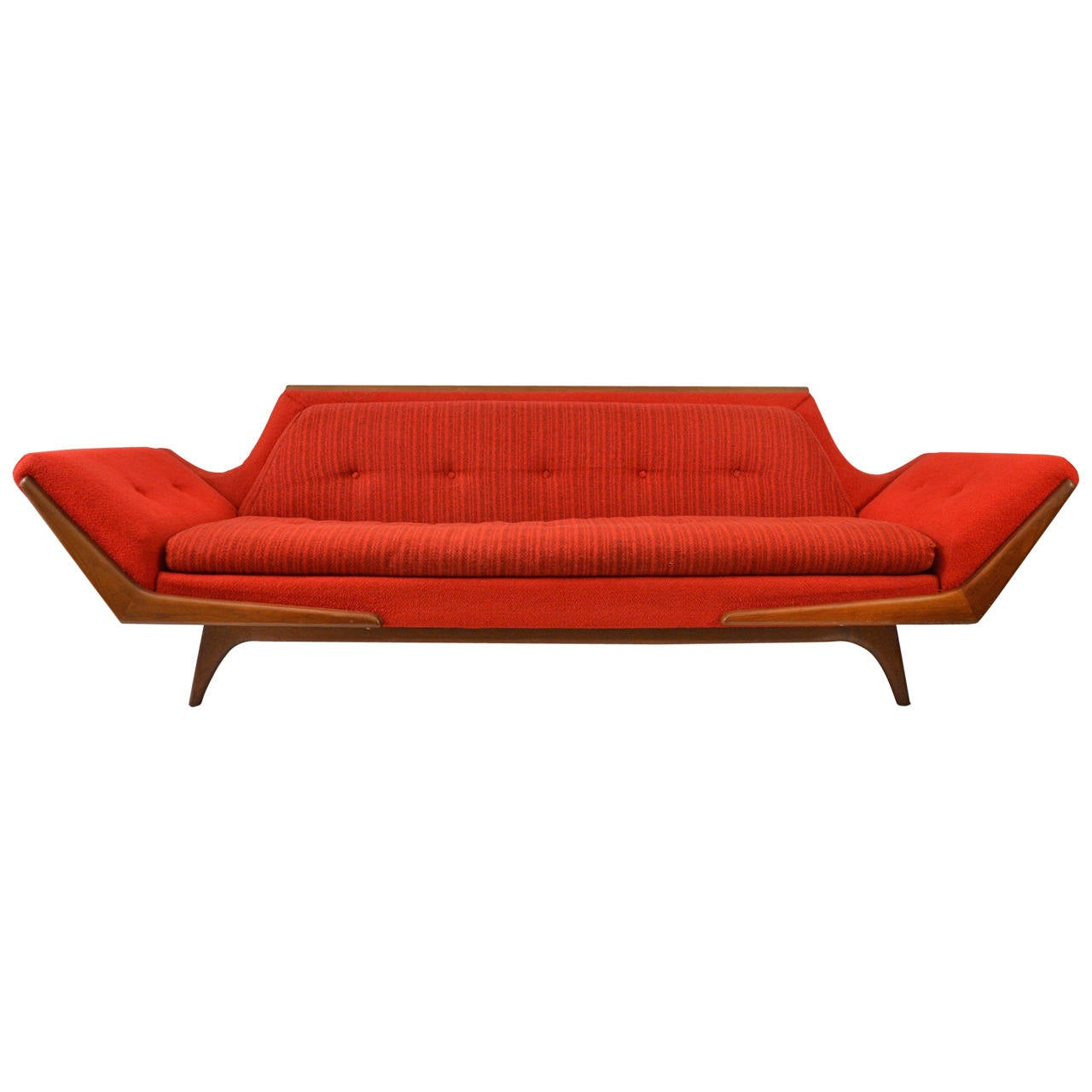 Gondola Sofa By Rowe At 1stdibs