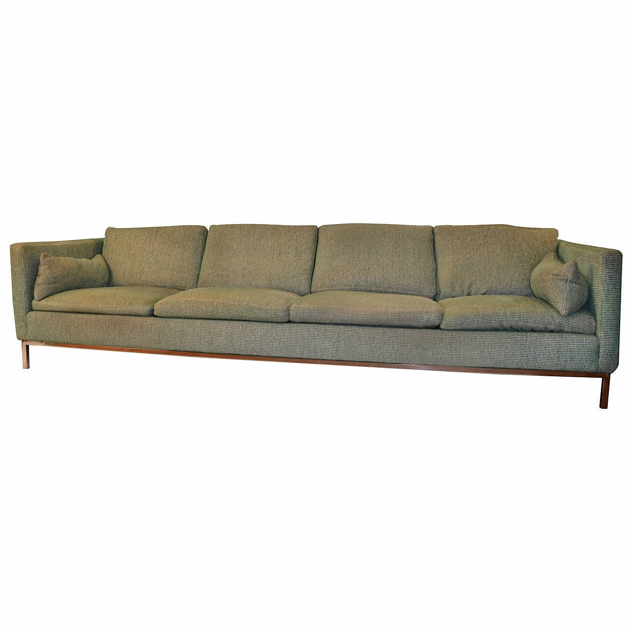 Most Comfortable Couch >> Extra Long Sofa by Steelcase at 1stdibs