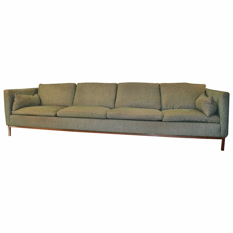 Extra Long Sofa By Steelcase For