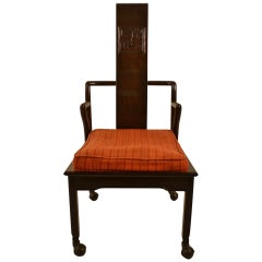Asia Modern Chinese Style Armchair