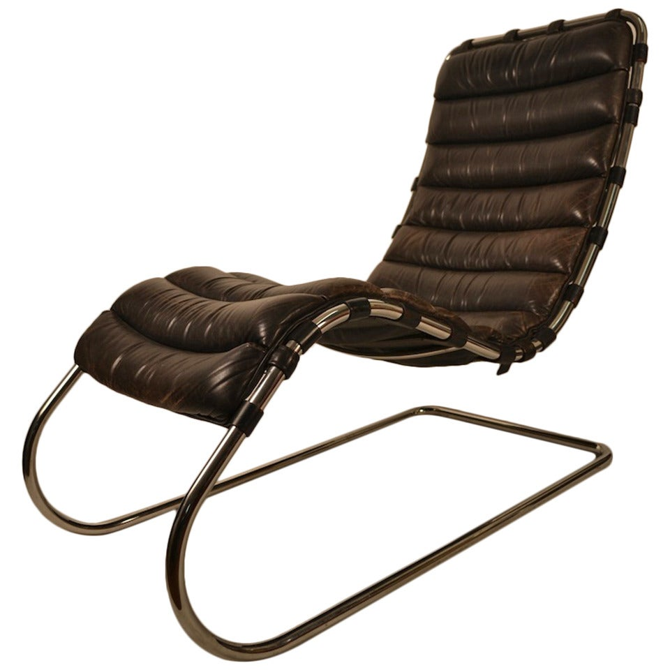 mies van der rohe for knoll chaise lounge at 1stdibs