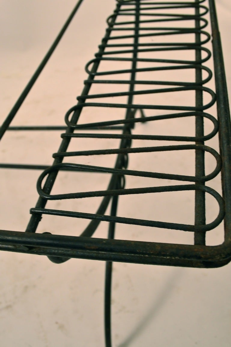 Wrought Iron Coffee Cocktail Table At 1stdibs