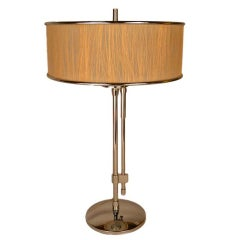 Deco Chrome Table Lamp