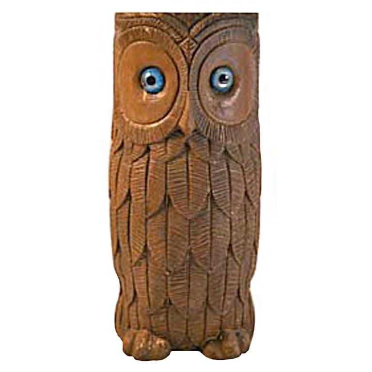 Owl Form Umbrella Stand