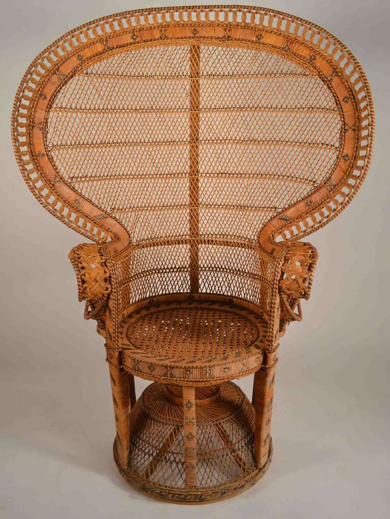Rattan Peacock Chair 2