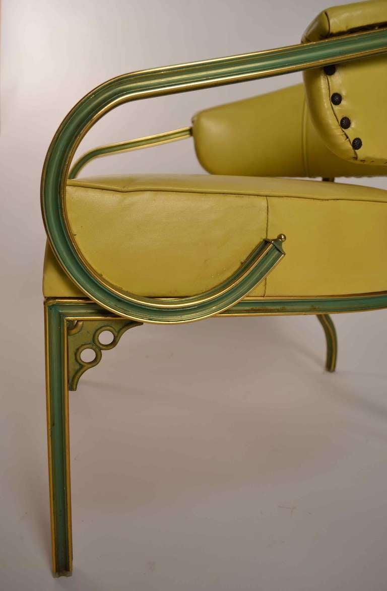 Pair Of Troy Sunshade Company Cymbal Line Lounge Chairs