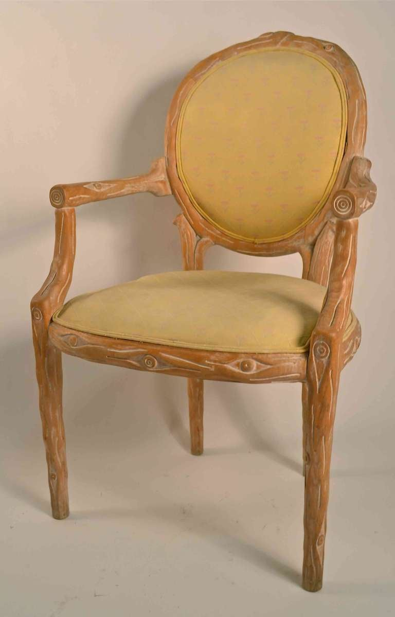 Set of six matching arm chairs at 1stdibs for Matching arm chairs