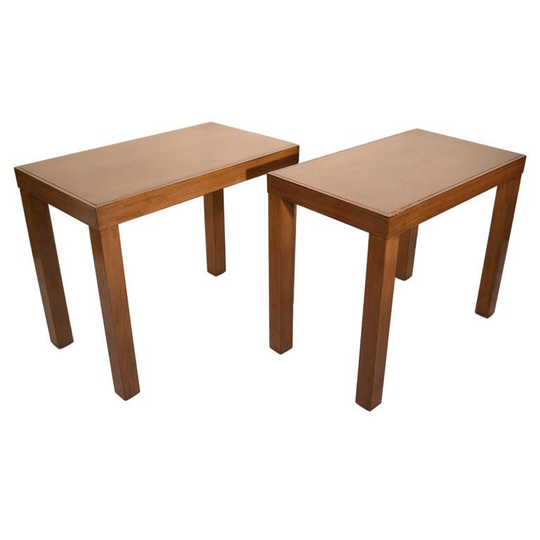 Pair of George Nelson / Herman Miller End Tables