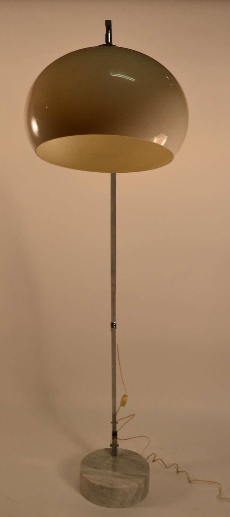 Italian Adjustable Arc Lamp At 1stdibs
