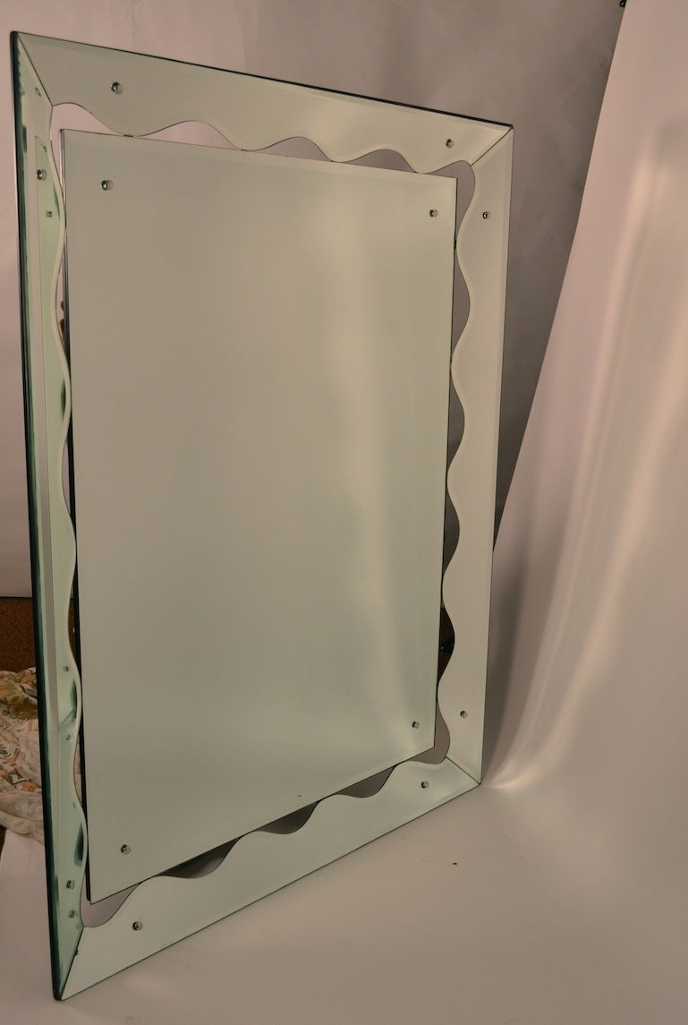 Large unusual venetian mirror for sale at 1stdibs - Unusual large wall mirrors ...