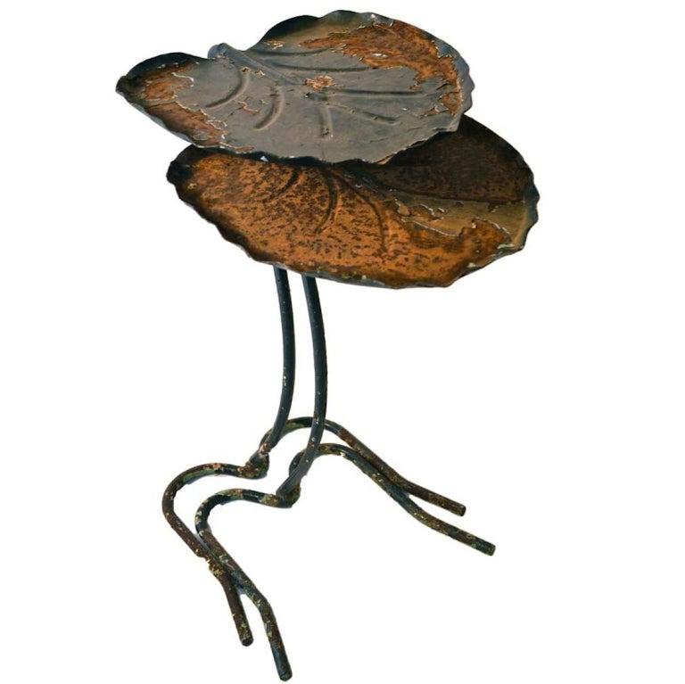 Salterini Nesting Leaf Tables At 1stdibs