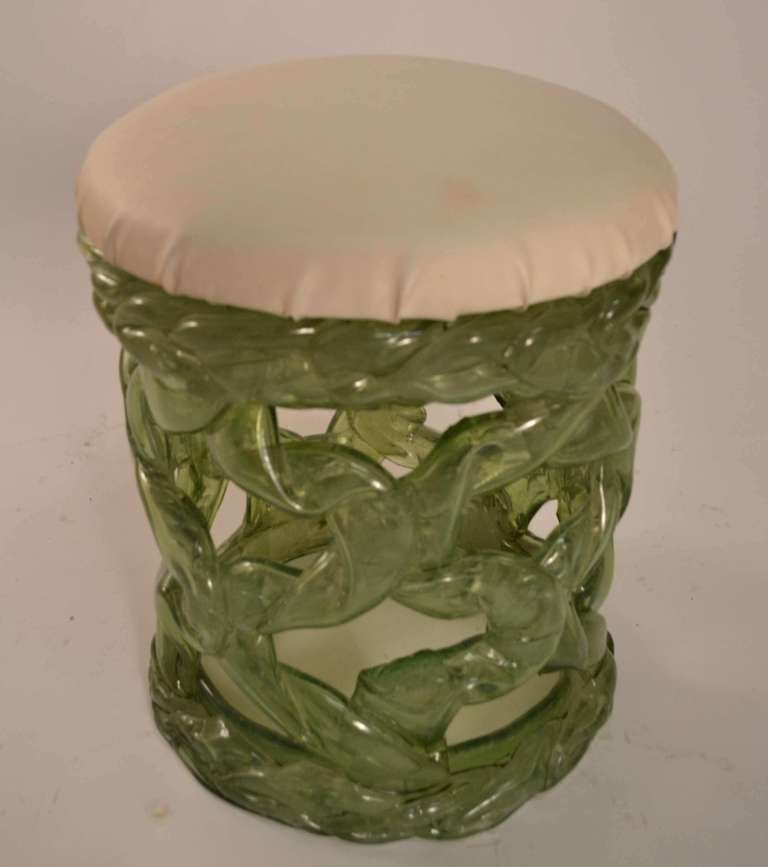 Translucent Plastic Resin Stool in the Brutalist Style For  : resinstool2l from www.1stdibs.com size 768 x 867 jpeg 35kB