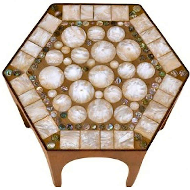 Italian Mosaic Top Taboret Table At 1stdibs