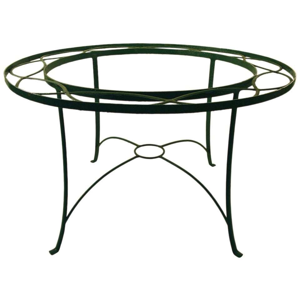 Round Dining Garden Table At 1stdibs