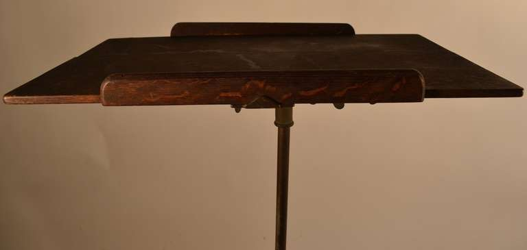 Drafting Table or Maitre D' Stand For Sale 1