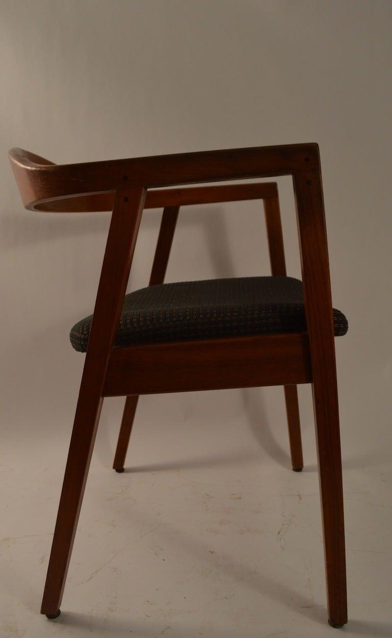 Set of Eight Gunlocke Dining Chairs at 1stdibs