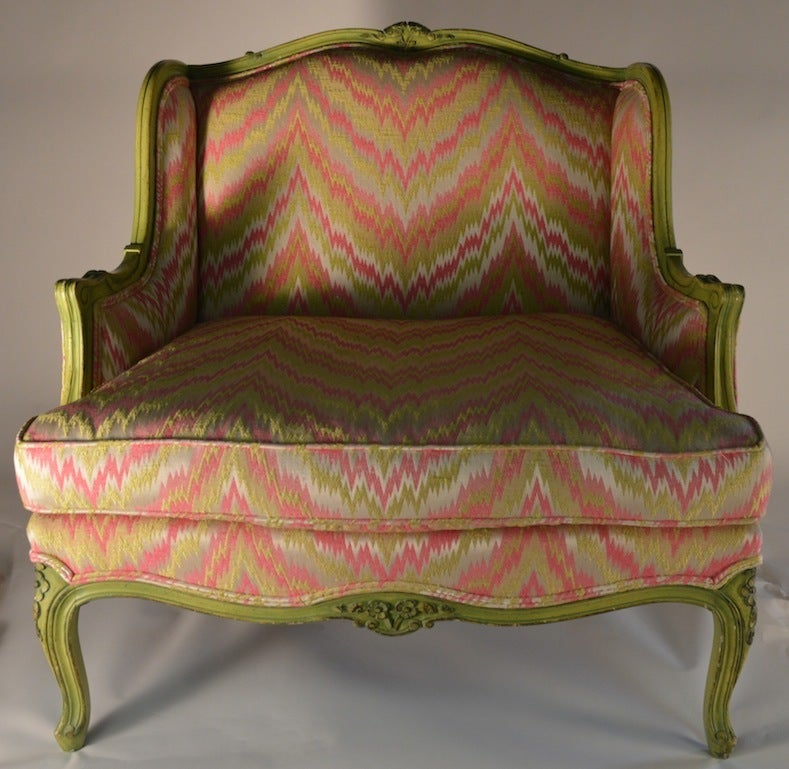 French Style Chair And A Half For Sale At 1stdibs
