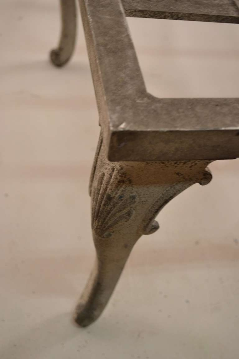 molla cast aluminum and magnesium art deco chaise at 1stdibs. Black Bedroom Furniture Sets. Home Design Ideas