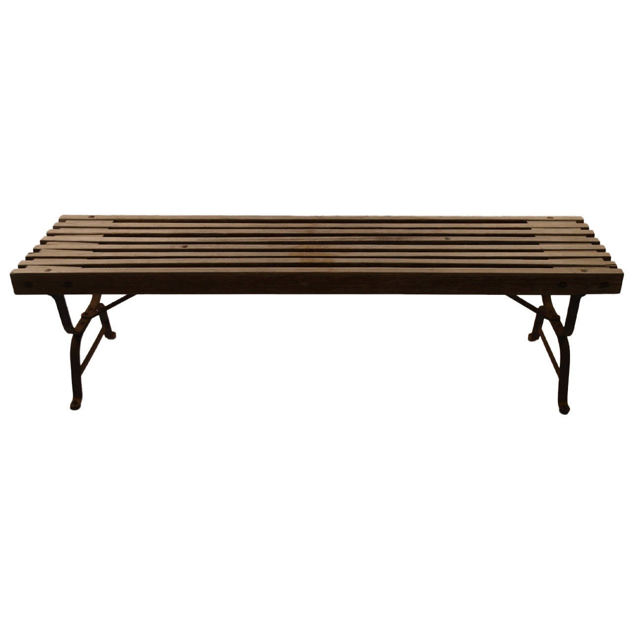 Industrial Garden Bench At 1stdibs