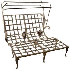 Rare and Elegant Molla Double Chaise