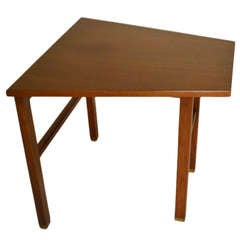 Trapezoidal Dunbar End Table by Wormley