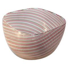 Cenedese Italian Murano Bowl, Signed