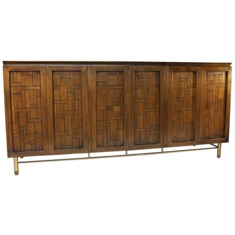 Bert England Design For Johnson Furniture Company Sideboard At 1stdibs